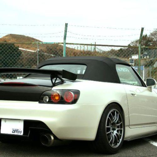 S2000リアバンパー FRP 黒ゲルコート
