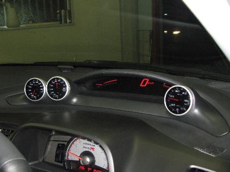 シビックタイプR 3連メーターフード(FD2用)