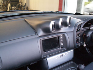 S2000メーターホルダー(未塗装)
